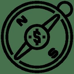 logo boussole metre carre lille