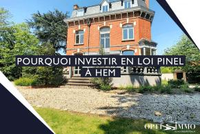 Pourquoi investir en loi Pinel à Hem ?