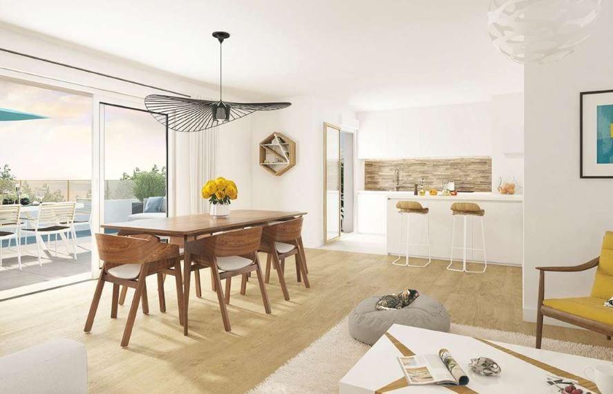 intérieur programme immobilier neuf lys-lez-lannoy