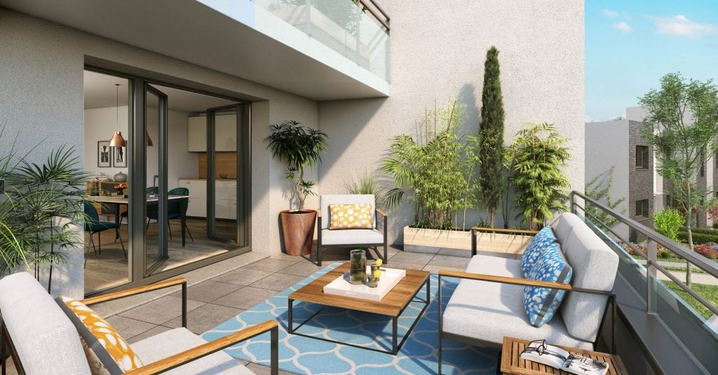 programme neuf pinel tourcoing terrasse