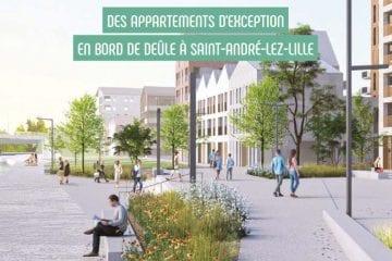 Quai des Lys – Appartement Pinel d'exception à Saint-André-lez-Lille