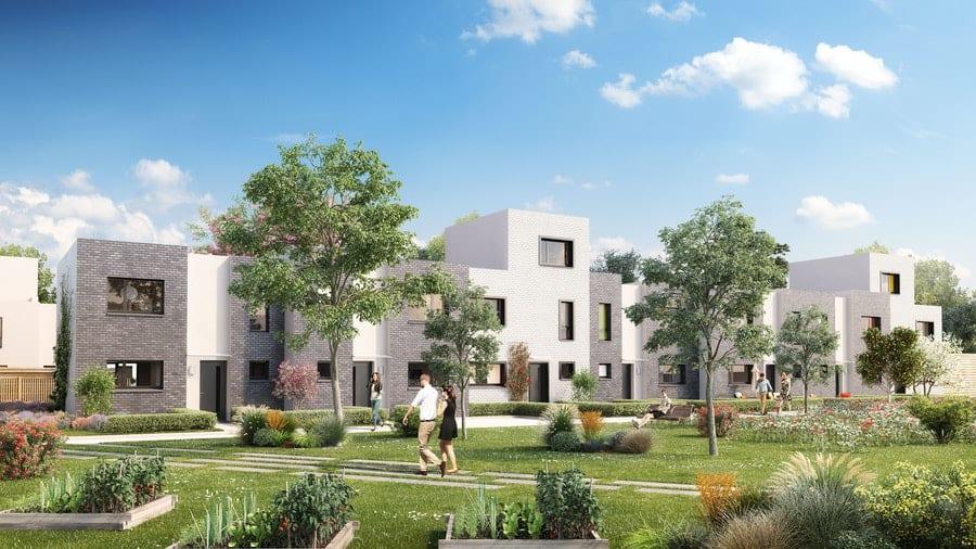 maisons et appartements pinel - espaces verts - tourcoing