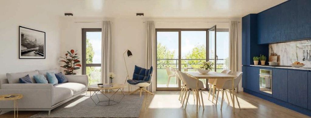 intérieur appartement type l'interlude résidence pinel tva reduite