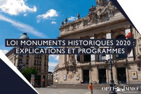 Loi Monuments Historiques 2020 : Explications et programmes